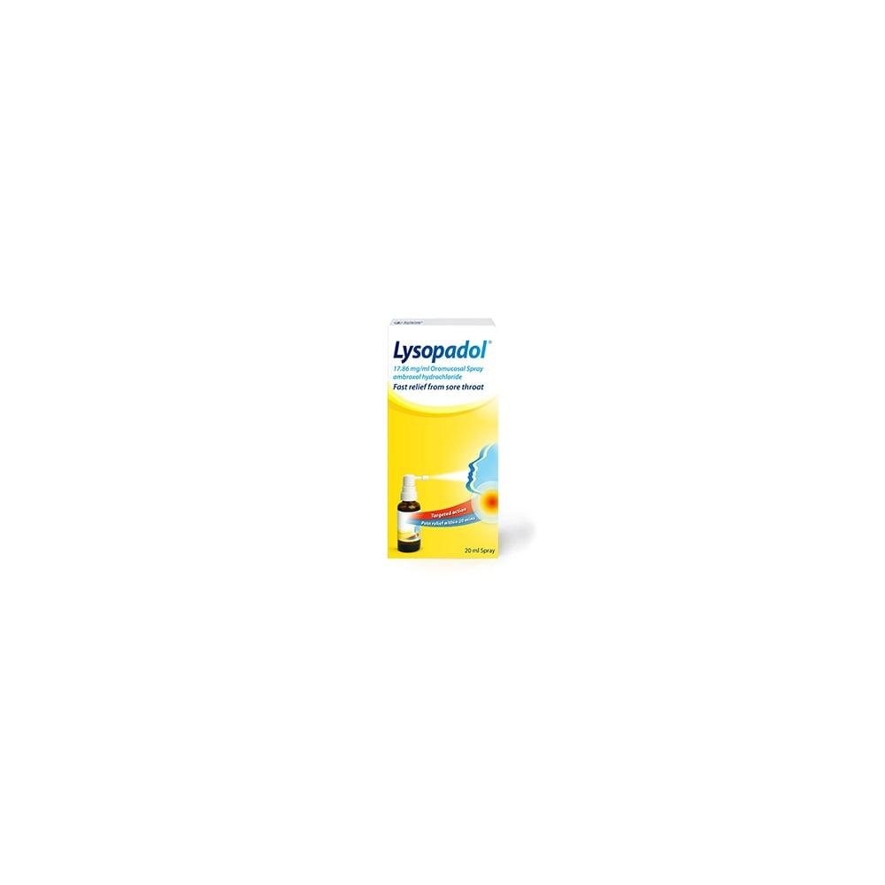 Lysopadol Sore Throat Spray